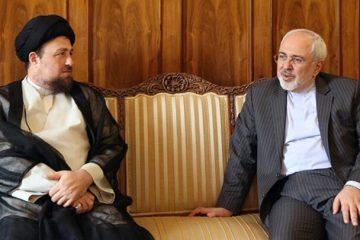 جلسه ظریف با سید محمد خاتمی و سید حسن خمینی درباره انتخابات ۱۴۰۰ / ظریف آب پاکی را روی دست اصلاحطلبان ریخت